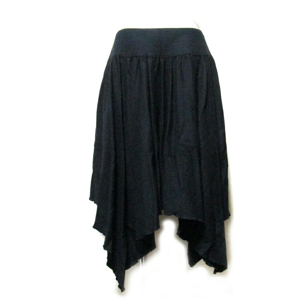 Jean Paul GAULTIER ジャンポールゴルチエ 「40」 変形ドレープスカート (黒) 104283 【中古】