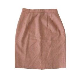 美品 BROOKS BROTHERS ブルックス ブラザーズ 定番ウールスカート (ピンク) 104660 【中古】