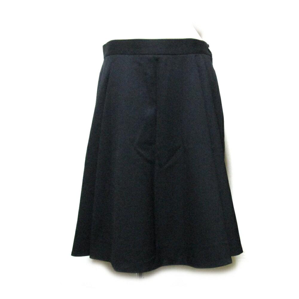 美品 Vivienne Westwood RED LABEL ヴィヴィアンウエストウッド レッドレーベル 「46」 イタリア製 キュロットフレアスカート (黒 ギャバジン) 104712 【中古】