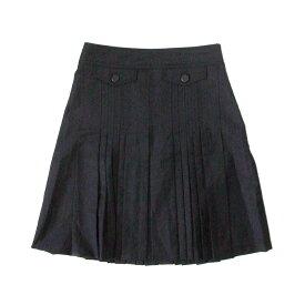PAUL & JOE ポール&ジョー 「38」 プリーツスカート (黒) 104827 【中古】