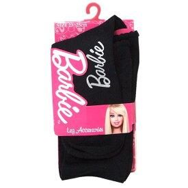 【新古品】 バービー Barbie ロゴストッキング (黒 タイツ) 105290 【中古】