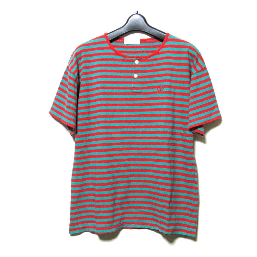 Vintage GUCCI ヴィンテージ グッチ イタリア製 ボーダーTシャツ (半袖 old オールド イベント) 105346 【中古】