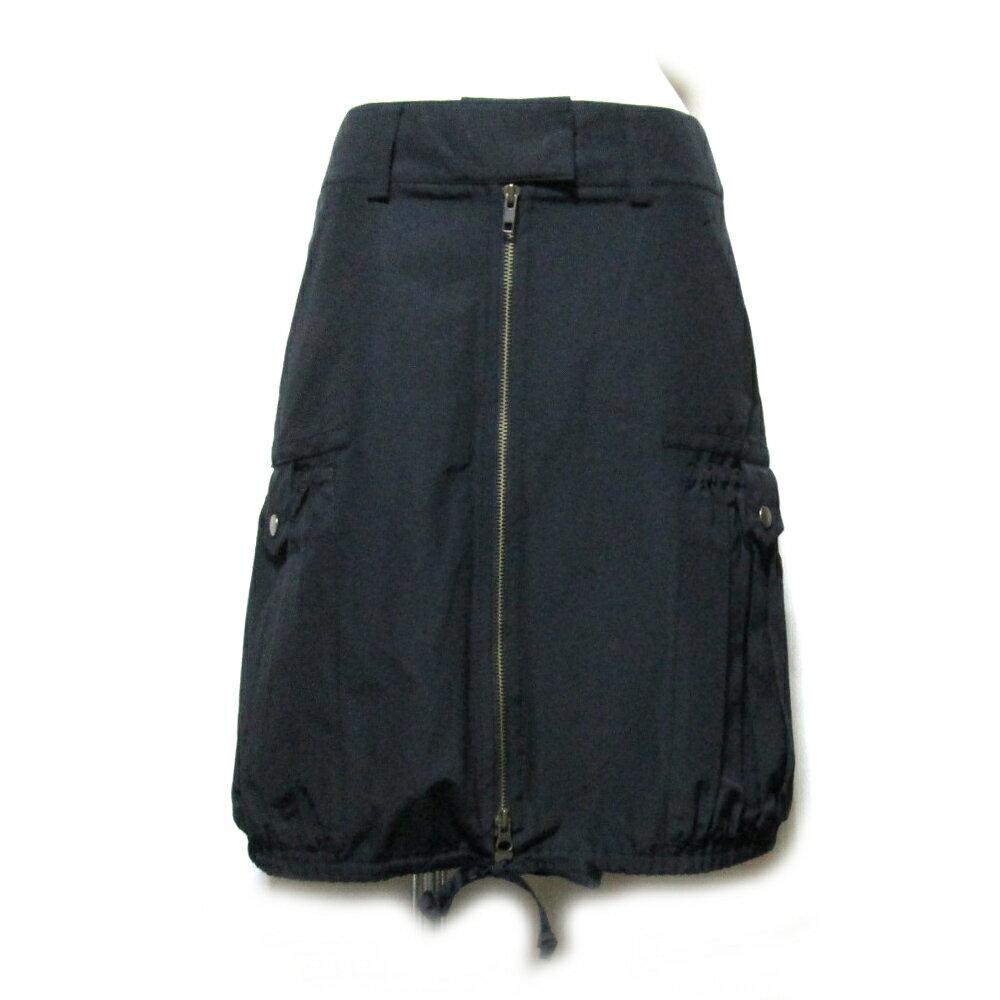美品 Jean Paul GAULTIER FEMME ジャンポールゴルチ 「40」 バルーンカーゴスカート (黒 ジップ) 105436 【中古】
