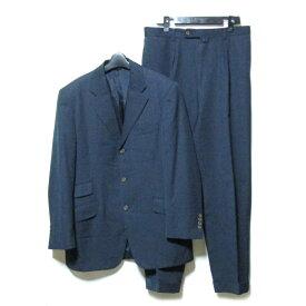 BEAMS f ビームス エフ ピンストライプ3Bセットアップスーツ (定番 ビジネス) 105737 【中古】