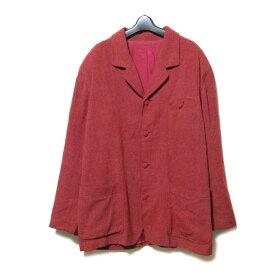 難有 [SALE] Vintage KENZO ヴィンテージ ケンゾー 「3」 4Bジャケット (Vintage ヴィンテージ 高田賢三 ジャケット 赤) 106144 【中古】