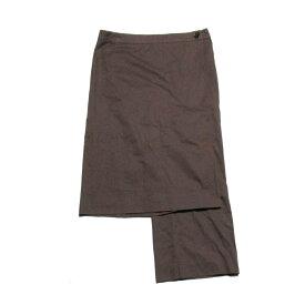 Veronique Branquinho ヴェロニク ブランキーノ 「38」 ベルギー製スカートパンツ (茶色 ユニセックス) 108958 【中古】
