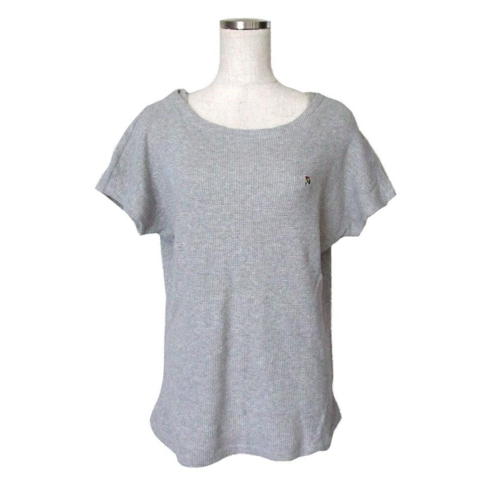 美品 arnold parmer アーノルドパーマー ワンポイントワッフルTシャツ (グレー 半袖) 109229 【中古】