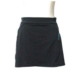 美品 Reebok リーボック ストレッチミニスカート (黒 カバースカート) 110074 【中古】