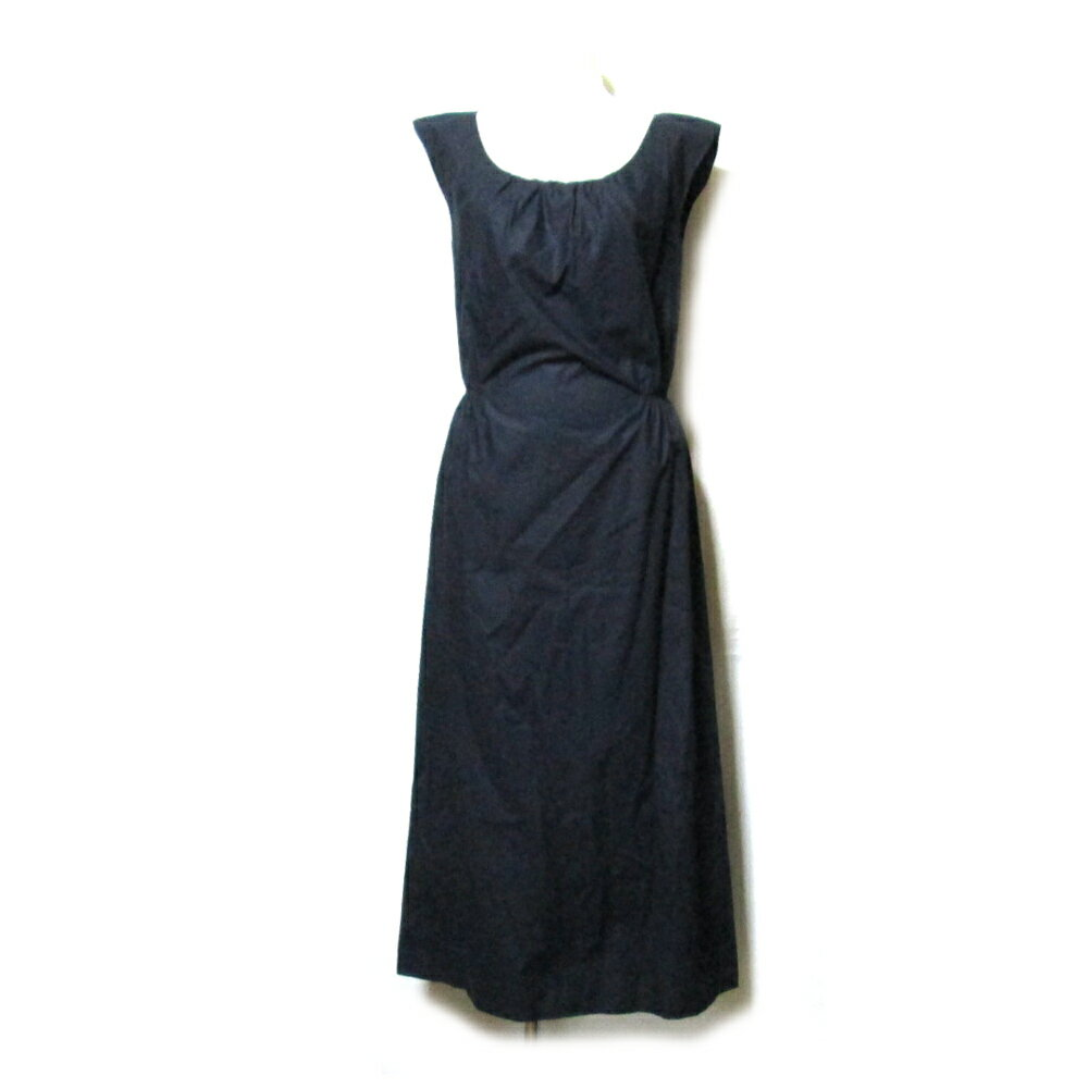 JILLSTUART ジル スチュアート 「2」 ロングドレープワンピース (黒 ドレス フォーマル) 110153 【中古】