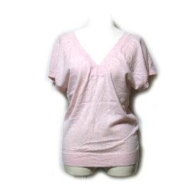 PAUL&JOE ポールアンドジョー 「1」 コットンカットソー (ピンク 半袖 Tシャツ) 110888 【中古】
