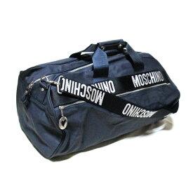Vintage old MOSCHINO ヴィンテージ オールド モスキーノ 2way ボストンバッグ (紺 ネイビー 鞄 ショルダーバッグ 旅行) 110906 【中古】