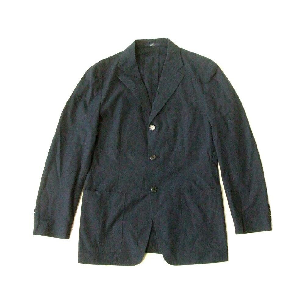 J.CREW J.クルー 定番3Bコットンジャケット (紺 ネイビー) 111368 【中古】
