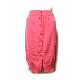 Vivienne Westwood GOLD LABEL ヴィヴィアンウエストウッド ゴールドレーベル 「M」 イタリア製 ニットスカート (ピンク) 111767 【中古】