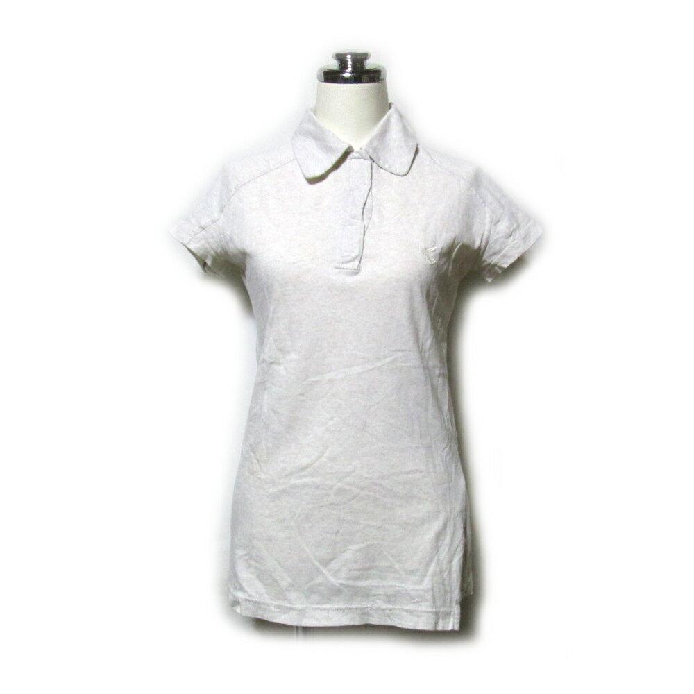 Anglomania Vivienne Westwood アングロマニア ヴィヴィアンウエストウッド 「S」 イタリア製 コットンポロシャツ (グレー 定番 半袖 エンブレム) 111770 【中古】