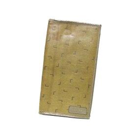 a2e26c30bdde 中古 Vintage old LANCEL ヴィンテージ オールド ランセル イタリア製 モノグラムロングレザーウォレット.長財布 (ベージュ  ビンテージ) 112335 【中古】
