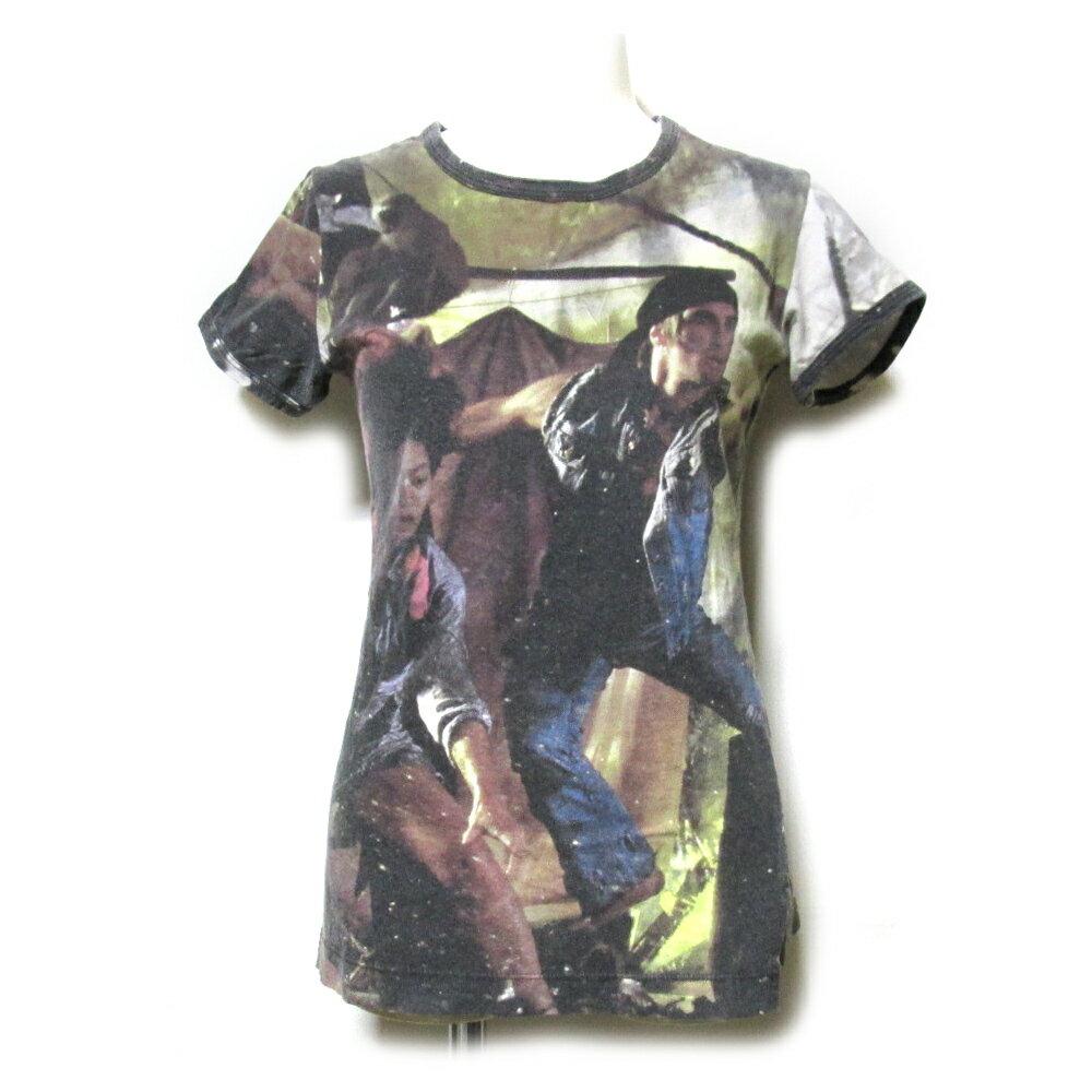 難有 [SALE] Anglomania Vivienne Westwood アングロマニア ヴィヴィアンウエストウッド 「S」 イタリア製 パイレーツ転写Tシャツ (半袖 海賊) 112725 【中古】