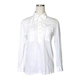 MARC JACOBS マークジェイコブス. コットンデザインシャツ (白) 114352 【中古】