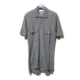 COMME des GAR?ONS SHIRT コムデギャルソン シャツ 「M」 フランス製ミリタリーポロシャツ (カーキ 半袖 COMME des GARCONS) 115266 【中古】