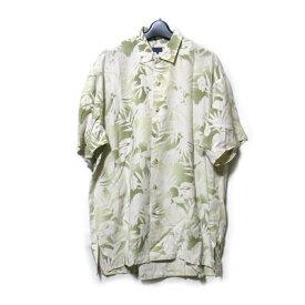 Vintage KENZO インテージ オールド ケンゾー 「3」 オリエンタルアロハシャツ (高田賢三 半袖 和柄 竹) 115664 【中古】