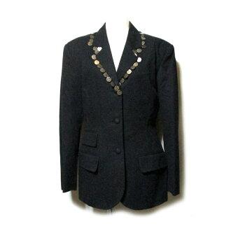 Jean Paul GAULTIER 쟝폴 고르체 「40」코인 재킷(80's Vintage 비테이지고르체흑유니섹스 빈티지) 116351