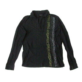 KENNETH COLE ケネスコール エスニック刺繍シャツ (黒 ブラウス ニューヨーク) 117128 【中古】