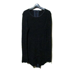 L.G.B. エルジービー ルグランブルー 「2」 サーマルロングスリーブTシャツ (黒 長袖 ロンTシャツ) 118045 【中古】