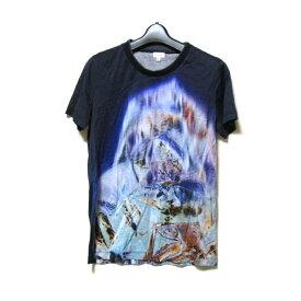 美品 Paul Smith ポールスミス 「S」 転写Tシャツ (半袖) 121293 【中古】