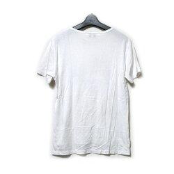 VivienneWestwoodMANヴィヴィアンウエストウッドマン「46」キャットオーブTシャツ(白半袖ネコORB)121492【中古】