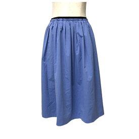 新品同様 NOLLEY'S sophi ノーリーズソフィー ワイドドレープロングスカート (ブルー) 121502 【中古】