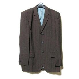 美品 Jean Paul GAULTIER HOMME ジャンポールゴルチエ オム 「50」 3B デザインジャケット (ブラウン ) 122682 【中古】