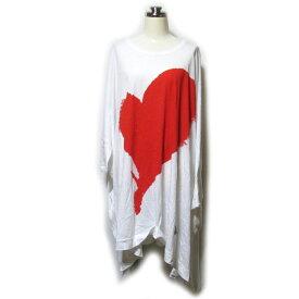 Anglomania Vivienne Westwood アングロマニア ヴィヴィアンウエストウッド 「0S」 ビッグシルエットハートTシャツ (ラブ カットソー ユニセックス) 123046 【中古】