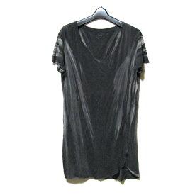 L.G.B. ルグランブルー 「1」 アート斑染ペントTシャツ (LGB エルジービー カットソー 半袖 ユニセックス) 123856 【中古】