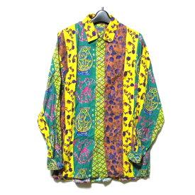 Vintage KENZO ヴィンテージ ケンゾー 「F」 ランダムエスニックシャツ (高田 賢三) 124669 【中古】