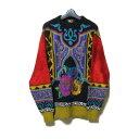 Vintage YOSHIYUKI KONISHI FICCE ヨシユキヨニシ フィッチェ 「2」 アートデザインニットセーター (ドン小西) 125568…