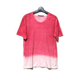 MOON AGE DEVILMENT ムーンエイジデビルメント 「44」 製品染Tシャツ (半袖 橙染) 125671 【中古】