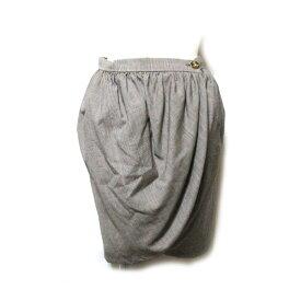 美品 Vivienne Westwood ヴィヴィアンウエストウッド 「40」 イタリア製 チューリップ巻きスカート (グレンチェック) 128215 【中古】