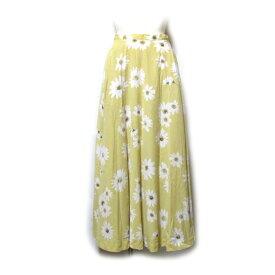 美品 Vintage INGEBORG ヴィンテージ インゲボルグ コスモスボリュームスカート (花柄) 128368 【中古】