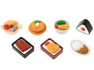 食堂ケシゴム 7個セット (7種×各1個)【メール便送料無料】イワコー おもしろ消しゴム
