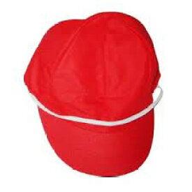 赤白帽 小学生用(頭囲58cmまで) メッシュタイプ 1個【メール便・送料無料】