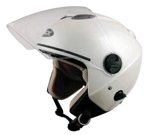 雨でも晴れでも無問題!ダブルシールド構造ZJ-2ZACKジェットヘルメット/TNKSPEEDPITバイク用ヘルメット