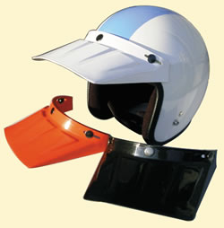 ダックバイザー DAMMTRAX ダムトラックス バイク ヘルメット用 バイザー