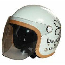 フラワーシールド フラワージェットシールド フラワージェットヘルメット専用シールド DAMMTRAX DAMMFLAPPER ダムトラックス ダムフラッパー バイク ヘルメット用シールド