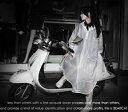 【送料無料】足下までスッポリ♪自転車・原付バイク・スクーターに最適!サイクルレインコート フリーサイズ レディース / バイク 自転車用 レインウェア レインコ...