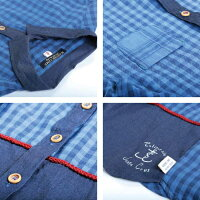 【メール便不可】LimeincライムチェックシャツM〜L/服レディース女性大きいサイズ北欧洋服限定おしゃれファッションセール価格限定ナチュラルカジュアルクローバー02P09Jan16