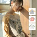 【メール便不可】 Lime inc ライム 七分袖Tシャツ M〜L / 服 レディース 女性 大きいサイズ 北欧 洋服 限定 おしゃれ ファッション セール 価格 限定 ナチュラル カジュアル クロー
