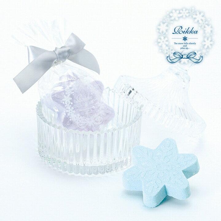 六花 雪 結晶 入浴剤 ギフト RIKKA バスフィズ まとめ買い 大量買い ノルコーポレーション [倉庫A] (メール便不可) 4000円以上 送料無料