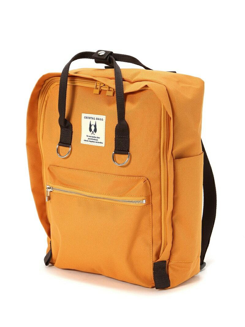 [Rakuten BRAND AVENUE]Square backpack CRYSTAL BALL クリスタルボール バッグ【送料無料】