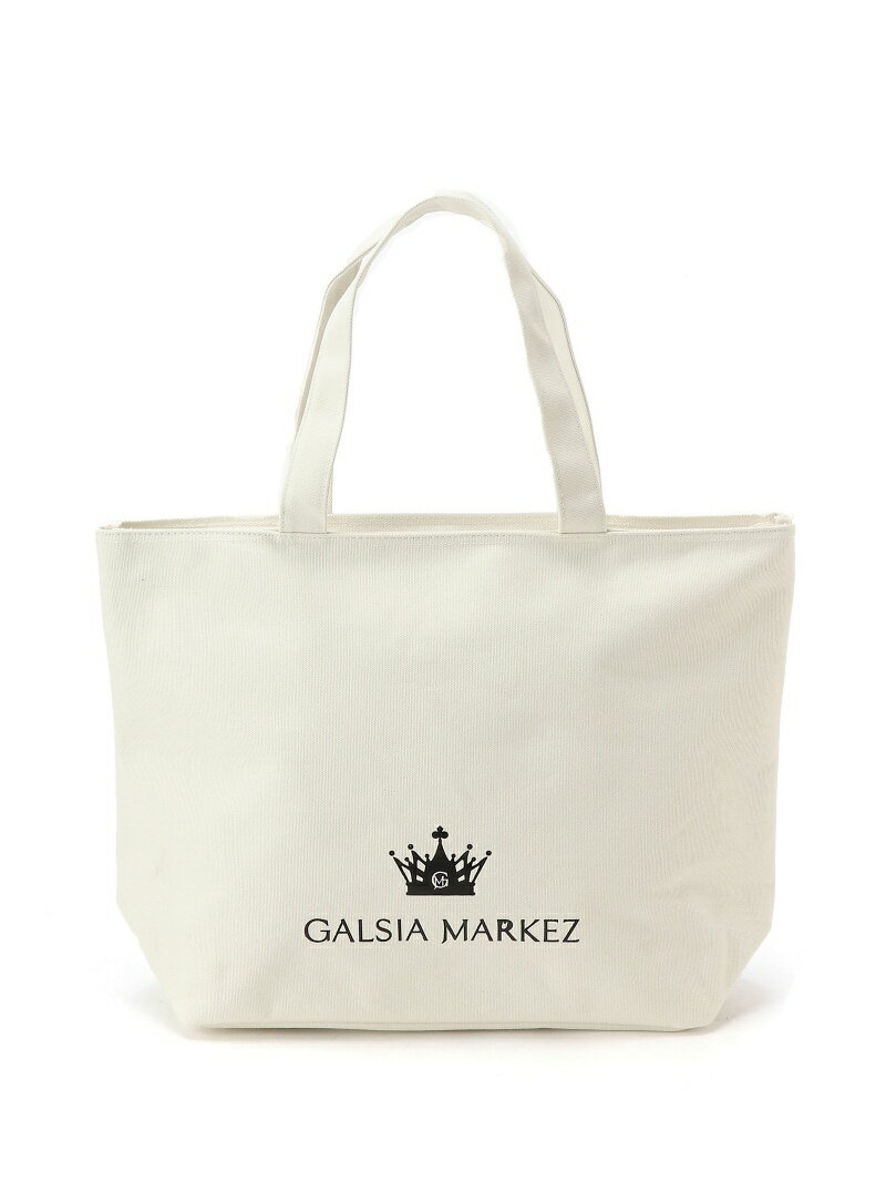 [Rakuten BRAND AVENUE]GALSIA MARKEZ Crown Canvas Tote CRYSTAL BALL クリスタルボール バッグ【送料無料】