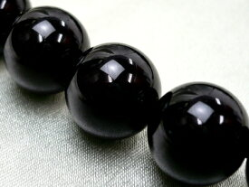 10mm玉 ブラックトルマリン(単品・粒売り) 【ブラジル産 最高品質クラス】