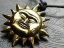 ho マヤの太陽神 ゴールドサンマーク スピリチュアル チョーカー フェイス神話 ネイティブ系 ペンダントトップ ネック…